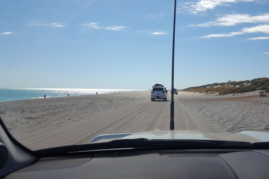 Great beach for driving