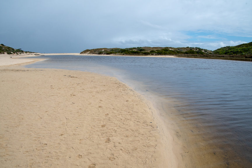 Margaret River estuary