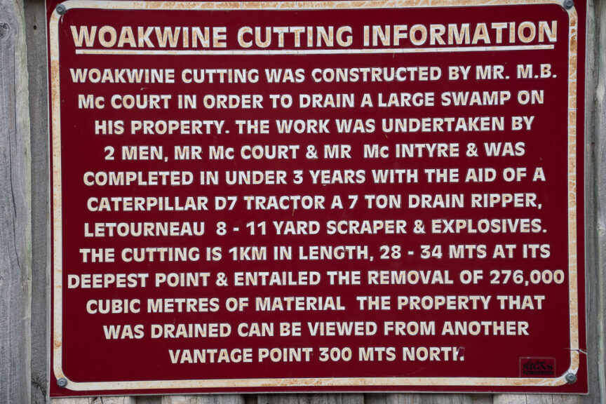 Woakwine Cutting