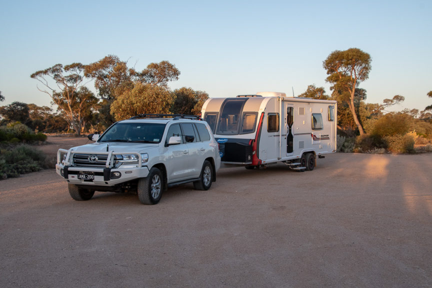 Freecamp on the Nullabor