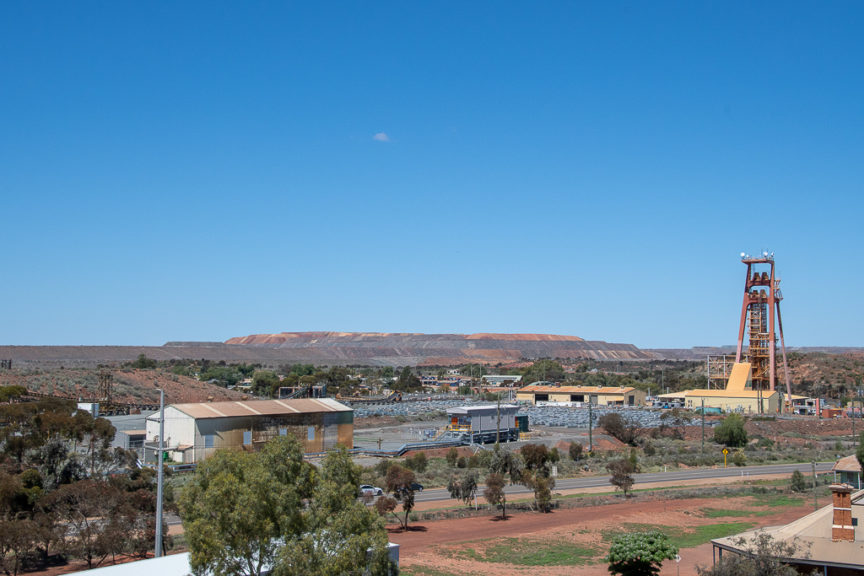 View of Kalgoorlie