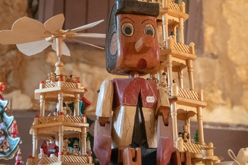Pinocchio in the German Village Shop