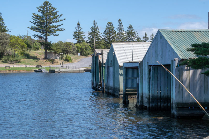 Nelson boathouses