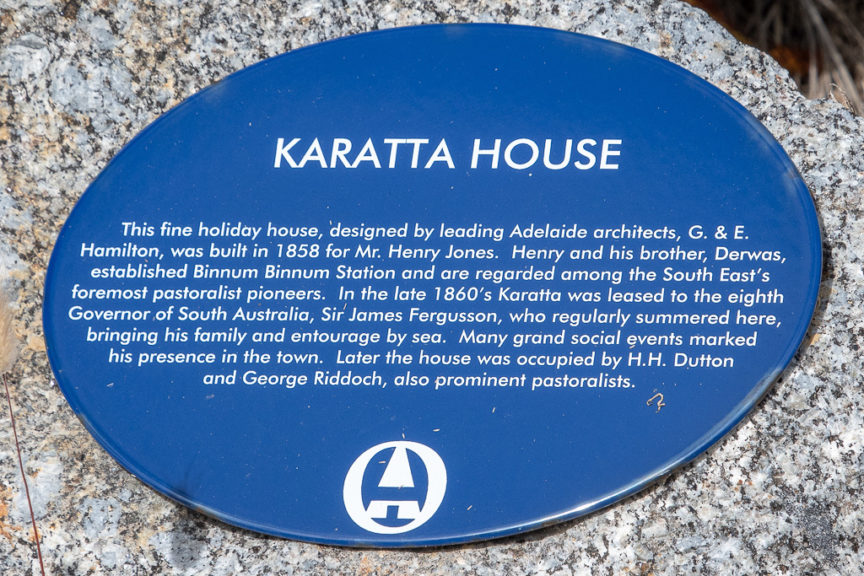 Karatta House built 1858