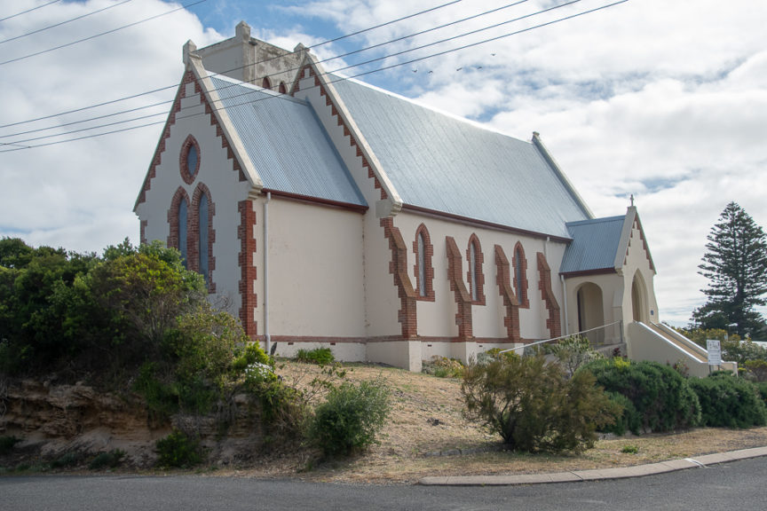 St Peter's Anglican Church built 1859