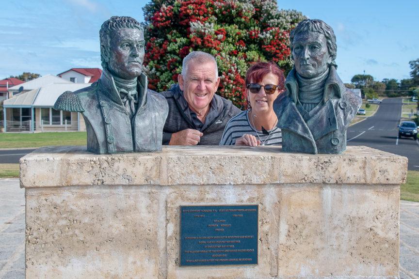 Matthew Flinders & Nicolas Baudin memorial