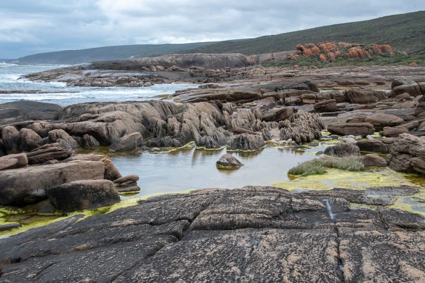 Cape Leeuwin rock pools
